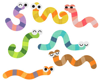 worm-clipart-colorful-14