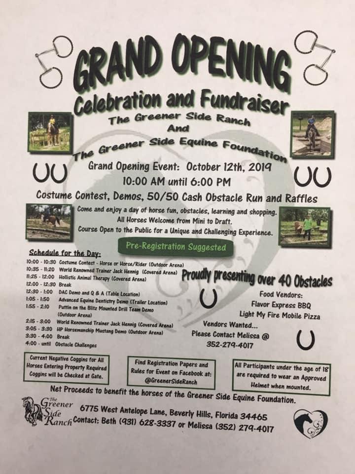 greener side event